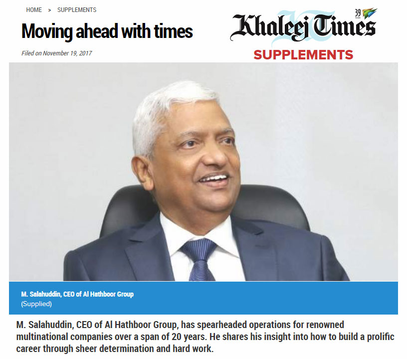 CEO Featured-KhaleejTimes-2017